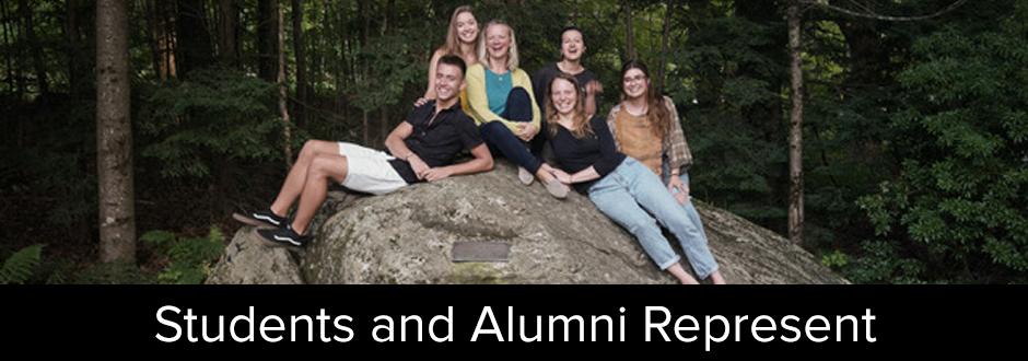 Students and Alumni Represent