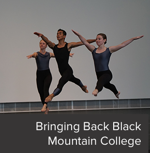 Students collaborate for a tribute to the famed Black Mountain College.