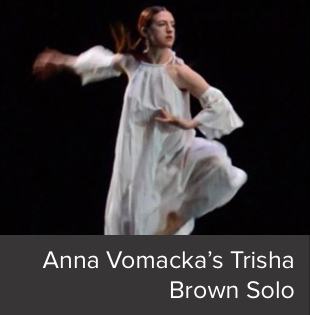 Anna Vomacka's Trisha Brown Solo from Glacial Decoy