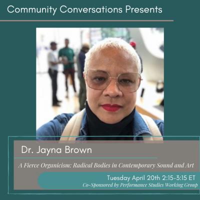 Dr. Jayna Brown